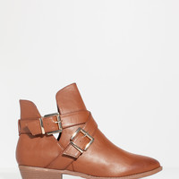 Charm-09 Double Trouble Flat Ankle Boot