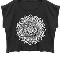 Mandala crop-top
