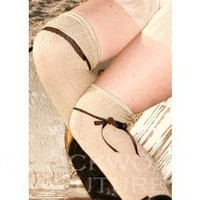 Step In Time Knee Socks - Stockings & Spats - Footwear