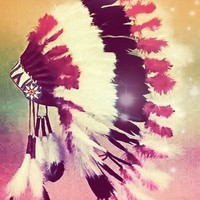 Native American dream Art Print by Amy McCuiston