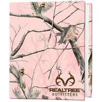Realtree AP Pink Camo Stretch Book Cover