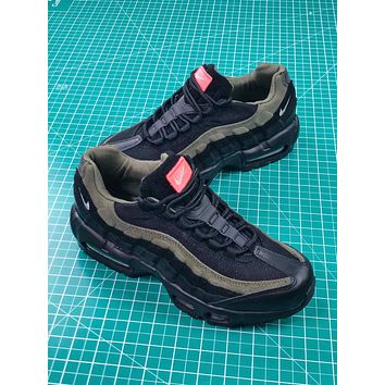 Nike Air Max 95 Hal Patches 95 Olive Green Ah8444-001 Sport Shoes 40-45