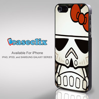Hello Kitty Stormtrooper For Smartphone Case