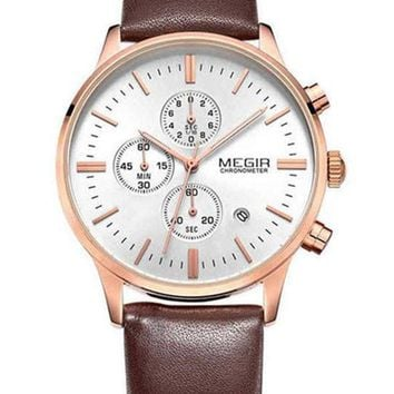 The Emery Leather Watch