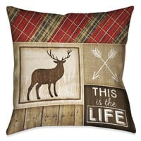 Country Cabin IV Indoor Decorative Pillow