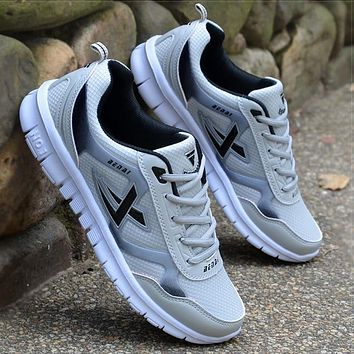 Mens Tennis Shoes Running Sneakers Breathable Super Light