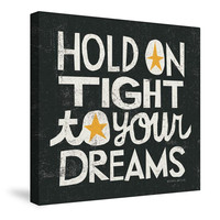 Hold on Tight Canvas Wall Art