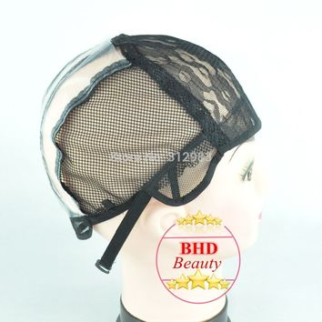 Weaving Wig Base Foundation Inner Mesh Cap Net for Wig Make Hair Extension Weft  DIY Medium Size XQ-002