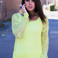 Sweet Sunshine Lightweight Knit