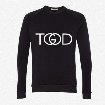 TGODr fleece crewneck sweatshirt