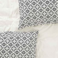 Magical Thinking Black + White Elephant Sham Set