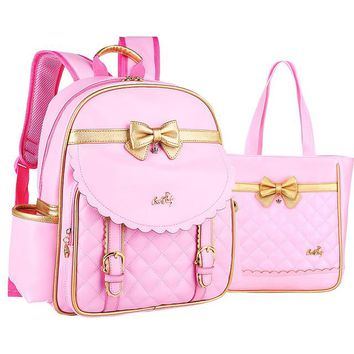 Boys Backpack Bag RUIPAI Hot Children School Bags For Girls High Quality PU leather  kids Book Bag Cheap Shoulder Bag   AT_61_4