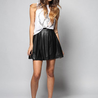 CIRCLED SKATER SKIRT | SHOPLUNAB