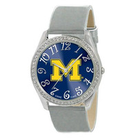 Michigan Wolverines NCAA Ladies Glitz Series Watch