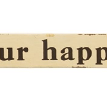 This Is Our Happy Place - Wall Sign