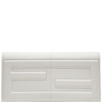 Fendi - Embossed Leather Shoulder Bag