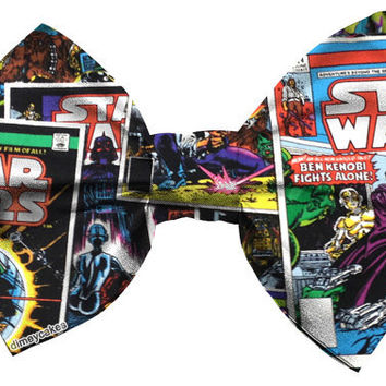 Star Wars Comic Book Hair Bow