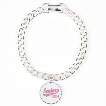 Pink Sporty Class of 2014 Bracelet> Seniors 2014- Pink Sport> Graduation Gift Ideas