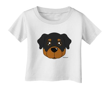 Cute Rottweiler Dog Infant T-Shirt by TooLoud