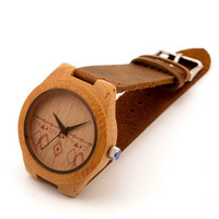 Woody on Wrist Wooden Watch 01