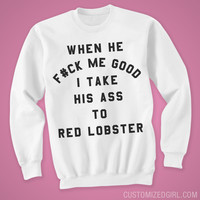I Slay at Red Lobster