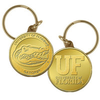 University of Florida Bronze Coin Keychain