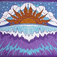 Sunset Wave - Tapestry
