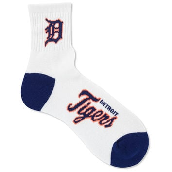 Detroit Tigers Ankle White 501 Sock
