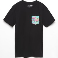 Vans Flamingo Pocket T-Shirt - Mens Tee - Black