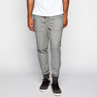 Brooklyn Cloth Mens Marled French Terry Jogger Pants Grey  In Sizes