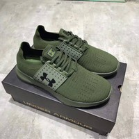 """""""Under Armour"""" Men Sport Casual Knit Training Running Shoes Fashion Sneakers"""
