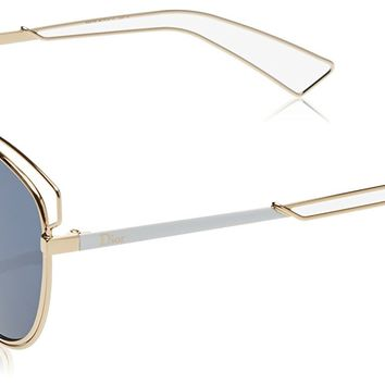 Christian Dior Sideral 2 Rose gold White Temple Color J9H Sunglasses