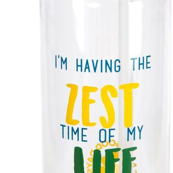 I'm having the zest time of my life Water Bottle