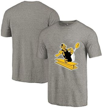 High Quality Summer Fashion Men's Steelers Fans T-Shirt Pittsburgh Tops Tees Steelers Retro Picture Printing O-neck T Shirt