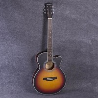 Guitars - 40 Inch High Quality Acoustic 6 String Guitar