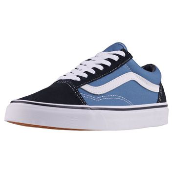 Vans Old Skool Unisex Trainers Navy New Shoes