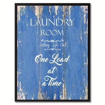 Laundry Room sorting life out Quote Saying Gift Ideas Home Décor Wall Art