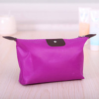 Purple Waterproof Cosmetic Bag
