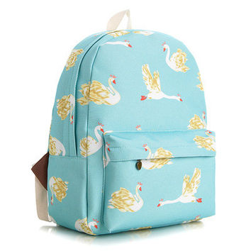 Canvas Cute Lovely Korean Backpack = 4887988164