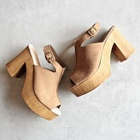 sbicca - mika open toe platform sandals