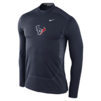 Nike Pro Hyperwarm Fitted Shield Max (NFL Texans) Men's Shirt