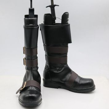 New NieR Automata YoRHa No. 9 Type S Cosplay Boots Anime Shoes Custom Made