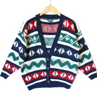 Diamond Eyes Vintage 90s Ugly Huxtable / Cosby Sweater For The Ladies