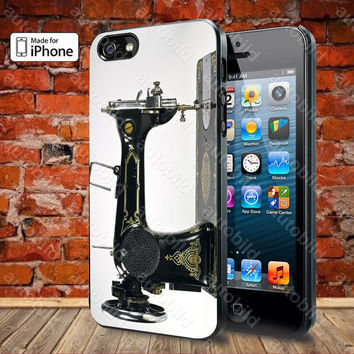 Sewing machine Case For iPhone 5, 5S, 5C, 4, 4S and Samsung Galaxy S3, S4