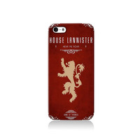 Game of Thrones House of Lannister iPhone case, iPhone 6 case, iPhone 4 case iPhone 4s case, iPhone 5 case 5s case and 5c case