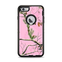 The Pink Real Camouflage Apple iPhone 6 Plus Otterbox Defender Case Skin Set