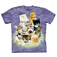 10 KITTIES TEE – tibbs & BONES