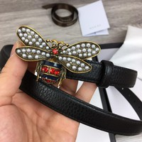 Gucci honeybee Belt