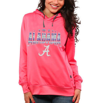 Alabama Crimson Tide Women's Sport Fleece Hoodie - Coral