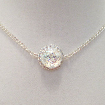 Shop Swarovski Crystal Bridal Necklace on Wanelo f7af1a5d16